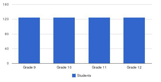 Alleman High School Students by Grade