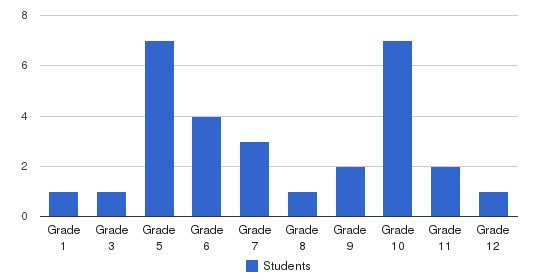 Petros Christian Academy Students by Grade