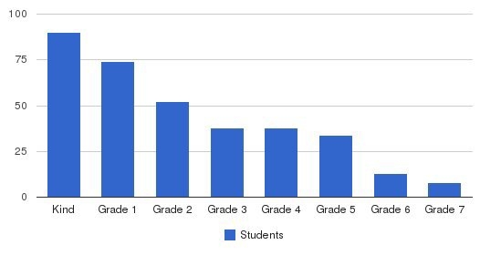 The Phoenix Schools Students by Grade