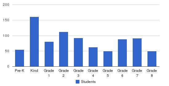 Yeshiva Rav Isacson / Torath Emeth Academy Students by Grade