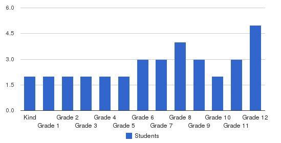 Praada Academy Students by Grade