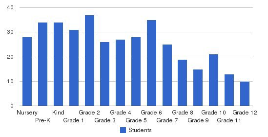 British School Of Boston Students by Grade