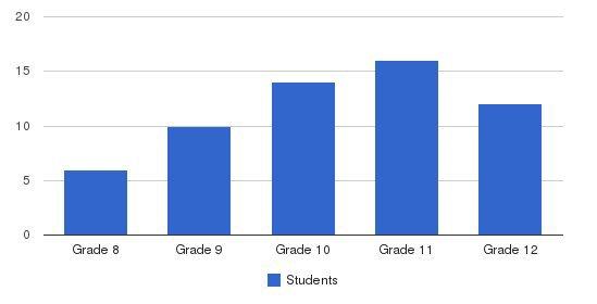 Regency High School Students by Grade