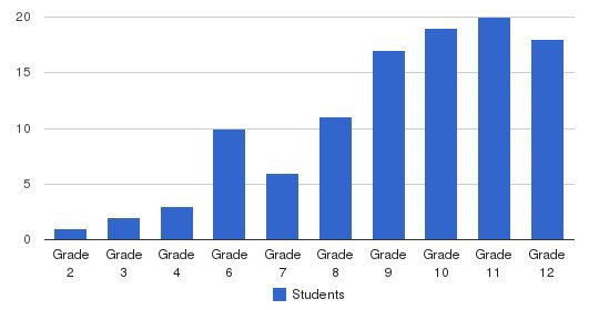 Edison Academics Students by Grade