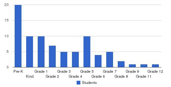 Valor Academy Students by Grade