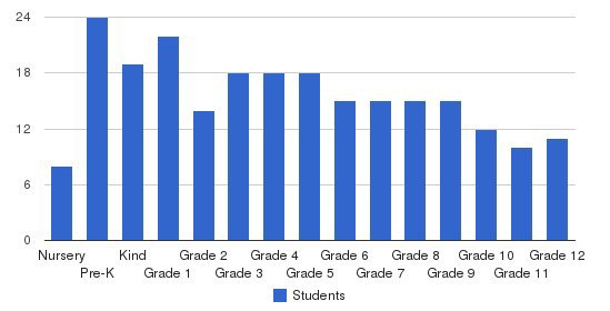 Rising Star Academy Students by Grade