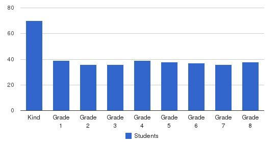 St Mary School Students by Grade