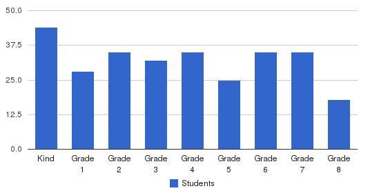 San Carlos School Students by Grade