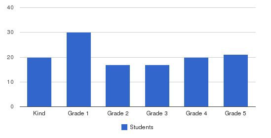 Serendipity School Students by Grade