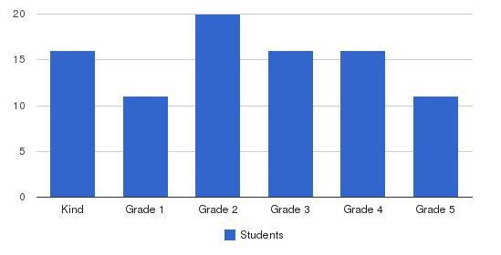 Chesnut Mountain Christian Academy Students by Grade