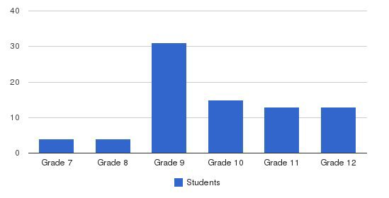 The Foundation School Of Montgomery County Students by Grade