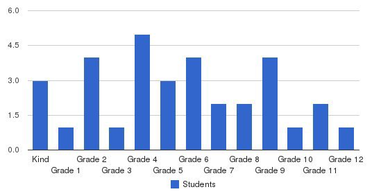 Student First Academy Students by Grade