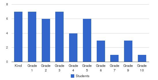 Artios Academy Students by Grade