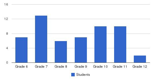 Interactive Education Academy Students by Grade