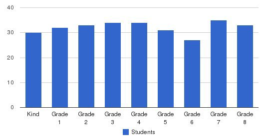 St Finbar Parish School Students by Grade