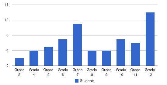 Williams Academy Students by Grade