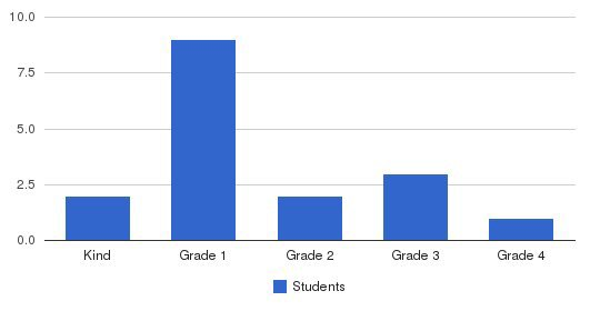 Aktiv Learning Academy Students by Grade