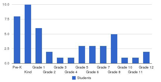 Excellence Academy Students by Grade