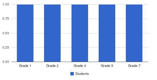 Milagre Kids School Students by Grade
