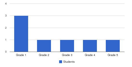 Pace Learning Center Students by Grade