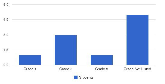 Clearwater Academy Students by Grade