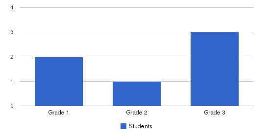 Light Way Schools Students by Grade
