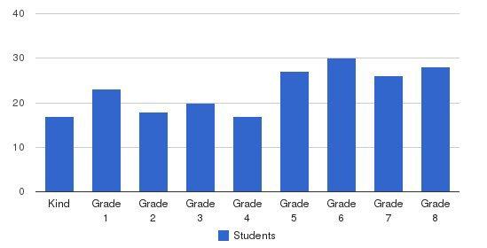 Stella Maris Academy Students by Grade