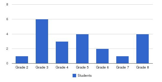 Stellar Academy Students by Grade