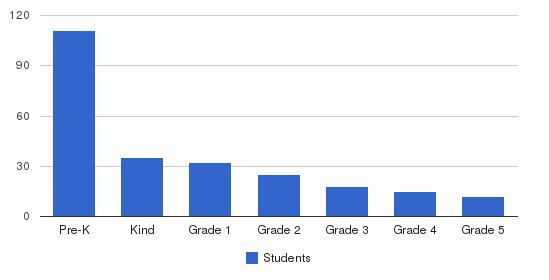 Denver International School Students by Grade