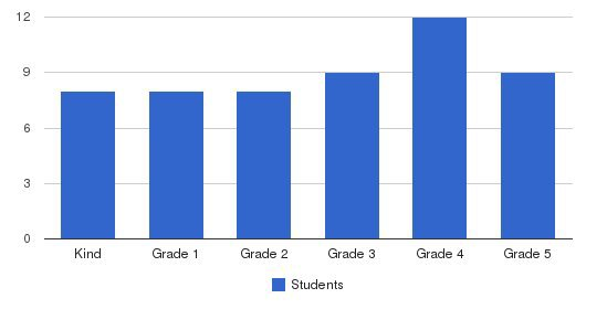 Albert Einstein Academy Students by Grade