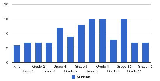 Christi/STEPSS Academy Students by Grade