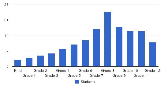 New Way Academy Students by Grade