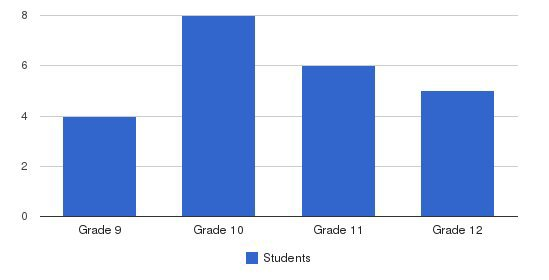 Liberty High School Students by Grade