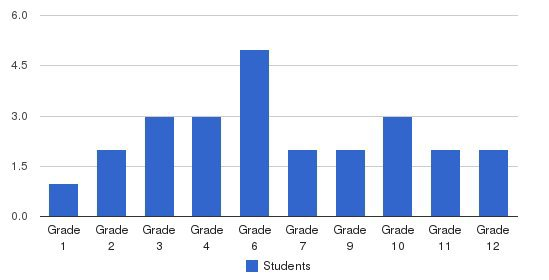 New Hope School Students by Grade