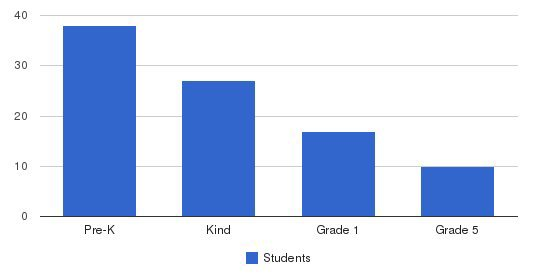 Satori School Students by Grade