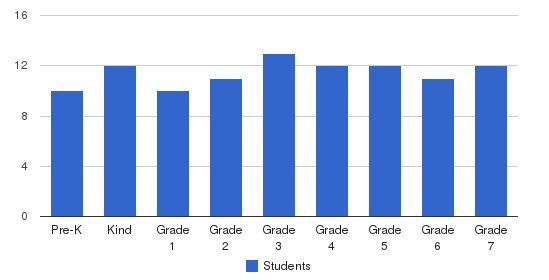 Atlanta Youth Academy Students by Grade