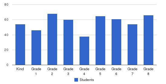 Mt. Bethel Christian Academy Students by Grade