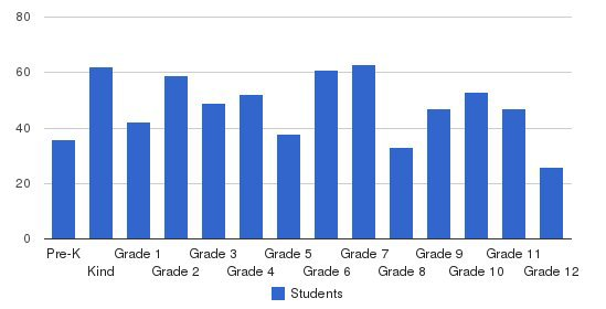 Tiftarea Academy Students by Grade