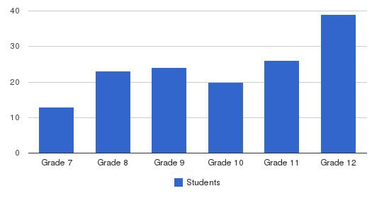 Luther South Math, Science & Performing Arts High Students by Grade