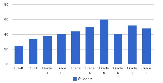 St. Alexander School Students by Grade