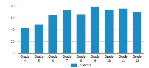 National Cathedral School Student By Grade