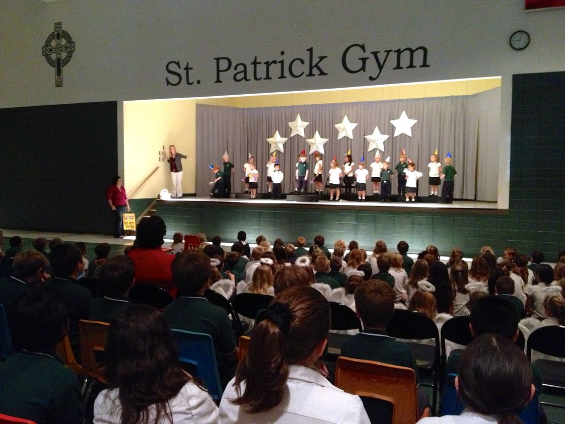 St. Patrick Catholic School Photo #1 - Christmas Program 2012
