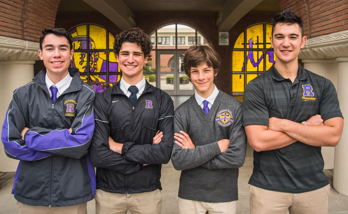 Archbishop Riordan High School Photo - Riordan provides the finest education for young men in San Francisco.