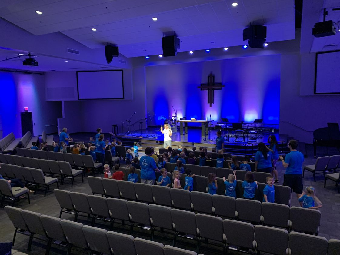 Gethsemane Christian Academy Photo #1 - We have chapel as a whole school each Wednesday!