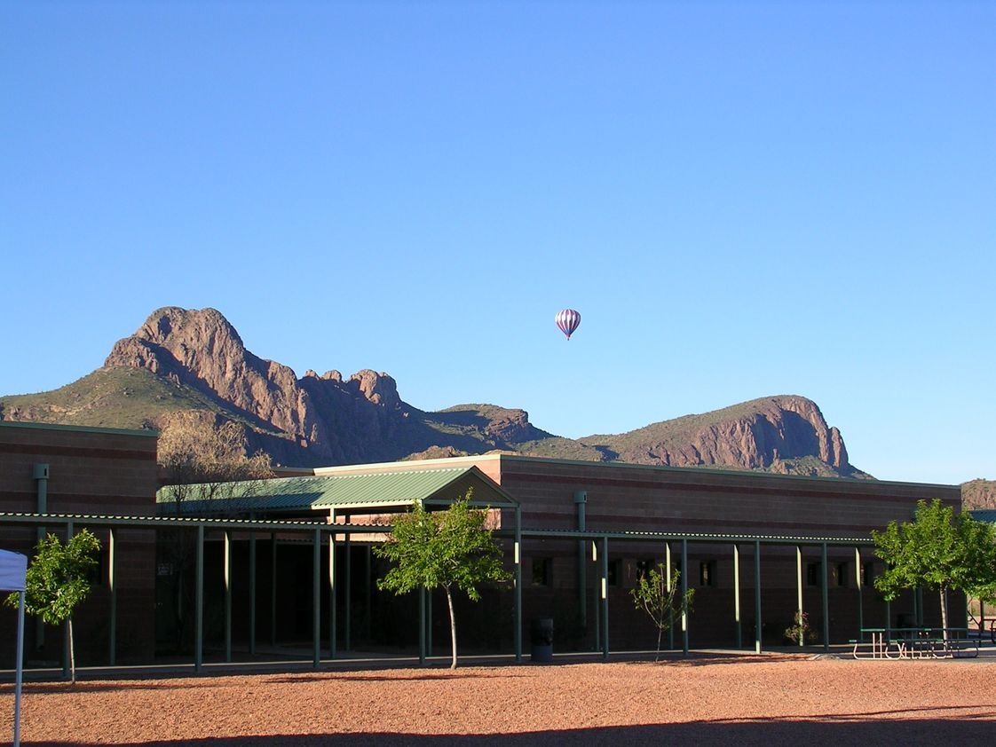 Redeemer Lutheran School Photo - Redeemer Lutheran School sits at the foot of the Tucson Mountains.