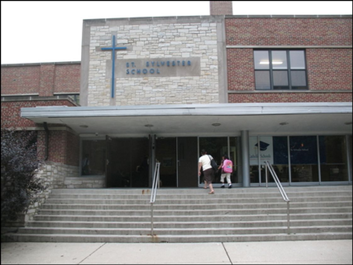 St. Sylvester Elementary School Photo #1 - Main Entrance
