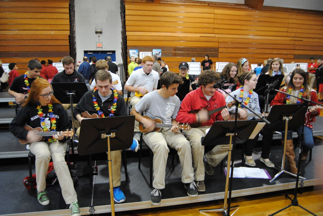 Bishop Luers High School Photo #1 - Ukulele Society