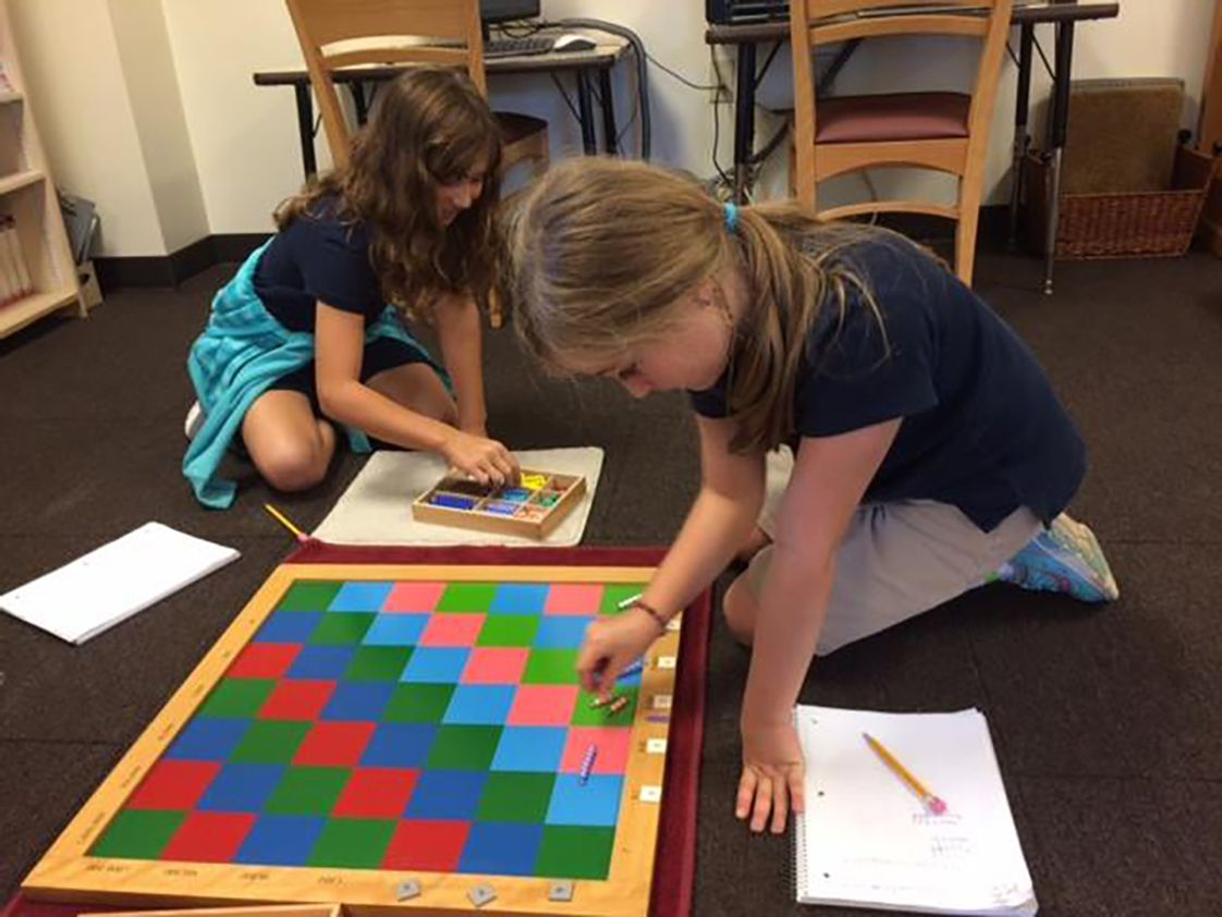 Butler Montessori Photo - Upper Elementary students are typically 9-12 years of age and are continuing to develop their social awareness as they begin their pre-adolescent phase.