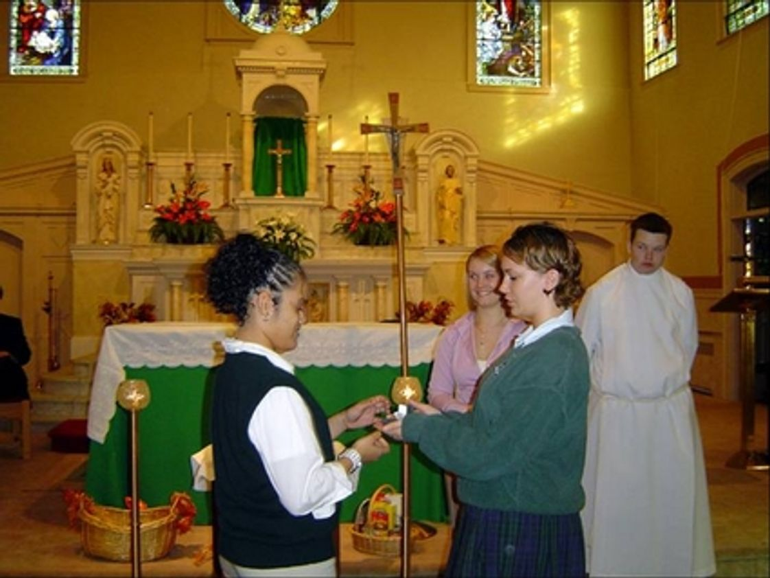 Lowell Catholic Photo - Although two-thirds of our students practice the Catholic faith, our students represent a variety of faith backgrounds.