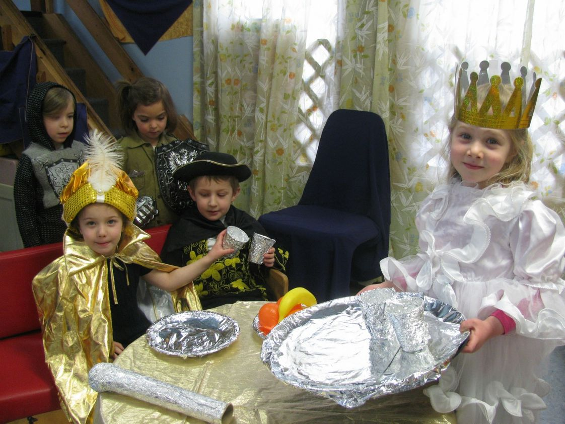 Striar Hebrew Academy Photo - Acting out the Purim story